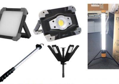 Prijslijst Werklampen